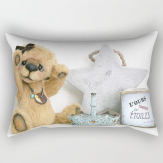 Coussin ours suzanne verron bear rectangular pillow cushion