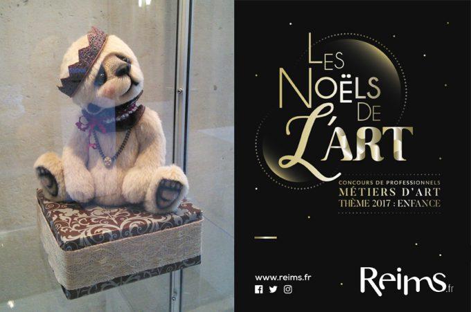 Noëls de l'Art 2017 : Dagobear couronné à Reims !